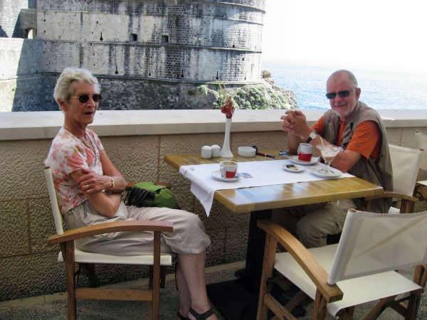 Winnie and Jan i Dubrovnik
